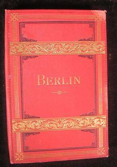 Berlin Germany ca.1880's Tourist photo album w/ 12 city views