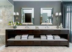 old dresser master bathroom vanity - Google Search