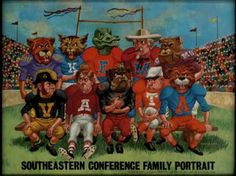 SEC Family Portrait