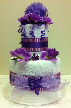Gift Idea - Towel Cake