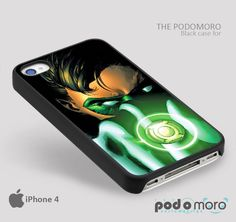 Green Lantern ring for iPhone 4/4S, iPhone 5/5S, iPhone 5c, iPhone 6, iPhone 6 Plus, iPod 4, iPod 5, Samsung Galaxy S3, Galaxy S4, Galaxy S5, Galaxy S6, Samsung Galaxy Note 3, Galaxy Note 4, Phone Case