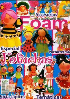 TODAS LAS REVISTAS DE MANUALIDADES GRATIS: Foamy especial Fofuchas
