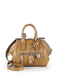 Marc Jacobs - Incognito Mini Smooth Leather Top-Handle Bag
