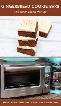 Gingerbread Cookie Bars With Cream Cheese Frosting via @sheenatatum