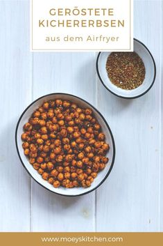 Roasted chickpeas from the Airfryer Chana Masala, Evening Meals, Gnocchi, Roast, Dining, Vegetables, Foodblogger, Super, Ethnic Recipes