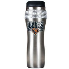 Chicago Bears 14oz Stainless Bling Tumbler