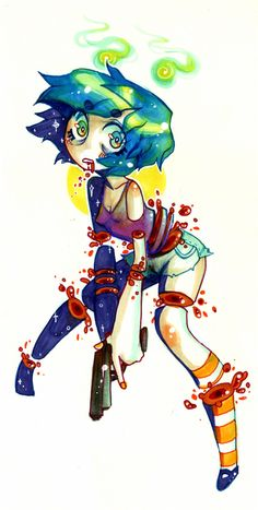 It must be lovely Candy Gore, Character Inspiration, Character Design, Vent Art, Goth Art, Creepy Art, Pastel Art, Horror Art, Amazing Art