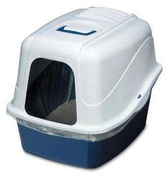 catmate Hooded Litter Pan Set with Microban - Jumbo ** Hurry! Check out this great product : Cat litter