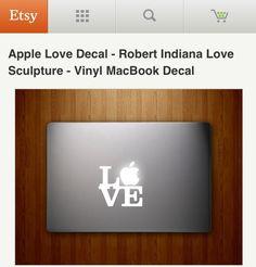 Mac book decal
