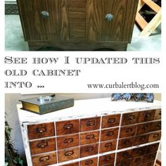 DIY Knockoff Card Catalog: With a Surprise! *dies* love this!