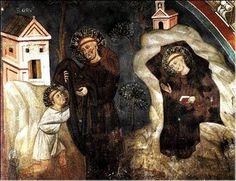 St Benedict at Sacra Speco