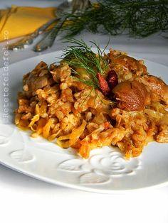 Dupa festinul si odihna de care m-am bucurat de sarbatorile astea ,a trebuit sa ma apropii din nou de aragaz si am gatit aceasta delicioasa mancare de varza murata cu orez.Si cum n-am vrut sa jicne…