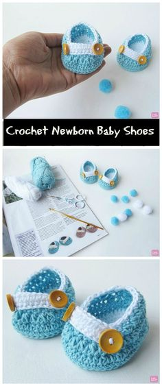 17 Free Crochet Baby Booties Pattern / Crochet Baby Shoes - Page 4 of 4 - I Heart Crafty
