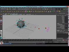Pressure and Goal in Maya nCloth - YouTube
