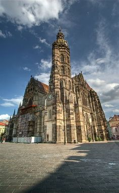 Kosice is Slovakia's second largest city and one full of many wonderful things to see and do for the tourist. Check out our travel tips for Kosice here. Bratislava, Austro Hungarian, Beautiful Places To Visit, Amazing Places, Central Europe, Place Of Worship, Kirchen, Eastern Europe, Countries Of The World