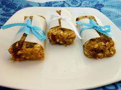 Vanilla & Spice: Chickpea Granola Bars
