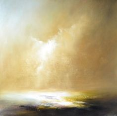 Sepia Storm by David Taylor Landscape Artwork, Abstract Landscape Painting, Seascape Paintings, Abstract Art, Scenary Paintings, David Painting, Turner Painting, Abstract Pictures, Beautiful Paintings