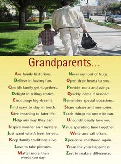GRANDPARENTS FROM A TO Z