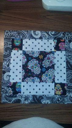 Sugar Skull quilt | Skullz | Pinterest | Sugar skulls, Sugaring ... : sugar skull quilt pattern - Adamdwight.com