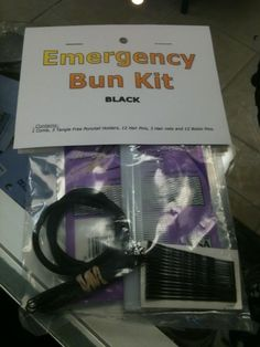 The Dance Shoppe now carries Emergency Bun Kits which include a comb, snag free elastics, hair pins, bobby pins and hair nets for only $7! Great to keep in your bag or competition suitcase! The Dance Shoppe