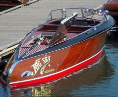 The All Inclusive Luxury Motor Yacht Charter Wooden Boats For Sale, Wooden Speed Boats, Riva Boot, Chris Craft Boats, Classic Wooden Boats, Vintage Boats, Old Boats, Yacht Boat, Pontoon Boat