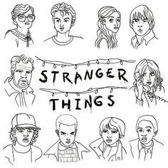Stranger Things Illustration