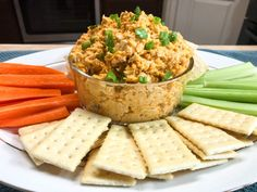Crockpot Buffalo Chicken Dip – Catherine's Plates Cream Cheese Chicken, Chicken Dips, Shredded Chicken, Slow Cooker Dips, Slow Cooker Recipes, Dry Ranch Dressing Mix, Buffalo Chicken, Casserole Dishes, Crockpot