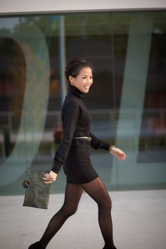 Happy Friday :: Prada sweater dress