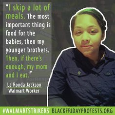 Stand with La Ronda. Stand with the #WalmartStrikers. Find a Black Friday protest near you: http://www.BlackFridayProtests.org 11/27