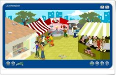 """""""La alimentación"""" (Aplicación interactiva de Ciencias Naturales de Primaria)"""