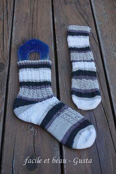 facile et beau - Gusta: Luneau - als Socken