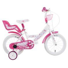 Vehicule pentru copii :: Biciclete si accesorii :: Biciclete :: Bicicleta copii Pinky Girl 14 Schiano Kids