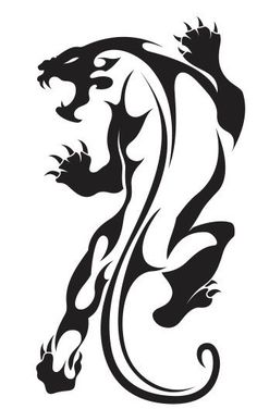 (Nr18) TRIBAL TATTOO TIGER JAGUAR PANTHER DECAL VINYL STICKER WINDOW TRUCK CAR