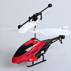 LH-1210 3.5CH iPhone/iTouch/iPod Mini Infrared Remote Control Helicopter (Red)