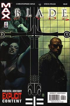 Blade Vol. 2 # 4 by Timothy Bradstreet