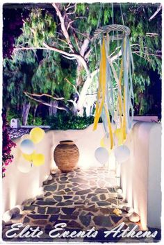 Little Prince Baptism - eliteeventsathens. Baptism Party, Heart Crafts, The Little Prince, Party Photos, Christening, Event Planning, Party Time, Yellow, Blue