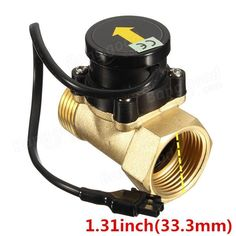 G1 -1 Copper 1.6A 1inch 32mm Water Pump Flow Switch High Temperature Switch