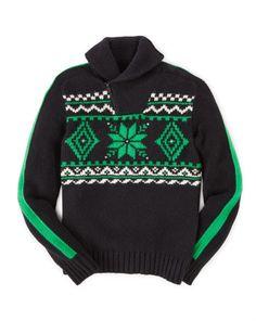 Snowflake Cotton Sweater - Boys 8-20 Sweaters - RalphLauren.com
