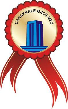 18 Mart Çanakkale Zaferi kutlamalarında kullanılabilecek rozettir.