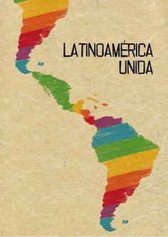 latinoamerica unida mural - Buscar con Google Latin America Map, Map Logo, Imagines, Faith In Humanity, Stencils, Logo Design, Logos, Working Class, Salvador