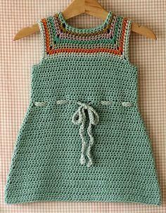 """Mina Dress"" crochet pattern"