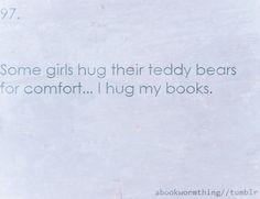and now I hug my dad's books...