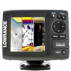 Lowrance Elite 5 CHIRP fishfinder en kaartplotter