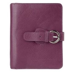 FranklinCovey Compact Ava Binder - Plum by Franklin Covey. $85.95. Wrapped in Italian pebbled leather in bold colors, the Ava Binder stands out among the contents of your bag. Features a magnetic snap closure, an interior zipper pocket, an ID window, and room for business or credit cards.