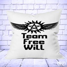 Best Supernatural Team Free Will Pillow Cases