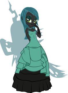 Equestria Girls - Queen Chrysalis by Rariedash.deviantart.com on @deviantART