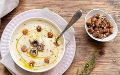 Crema di cavolfiore e patate Oatmeal, Breakfast, Food, Cream, The Oatmeal, Morning Coffee, Rolled Oats, Essen, Meals