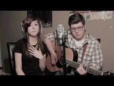 Christina Grimmie & Noah Guthrie - Somebody That I Used To Know by Gotye Feat. Kimbra