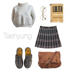 Old School Outfit / BTS by youaremorethanbeautiful on Polyvore featuring polyvore, fashion, style, Alaïa, Dr. Martens, Retrò and clothing