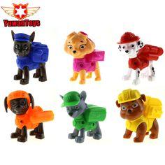 Hot 1 Stücke Hund Spielzeug Juguetes Kinder Spielzeug Hunde Welpen Patrol Hunde Haustier Hund Patrol Amerikanischen Film Abbildung Everest/Ryder/Skye Spielzeug